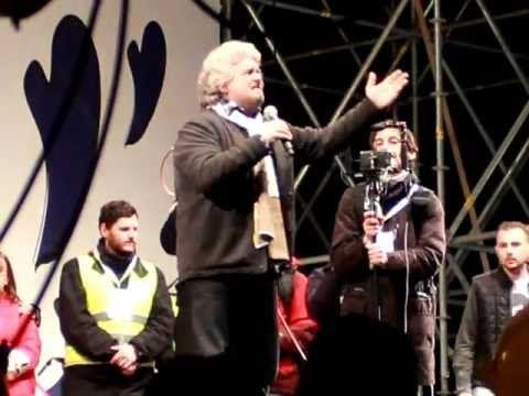 "Beppe Grillo Roma ""Tsunami Tour"""