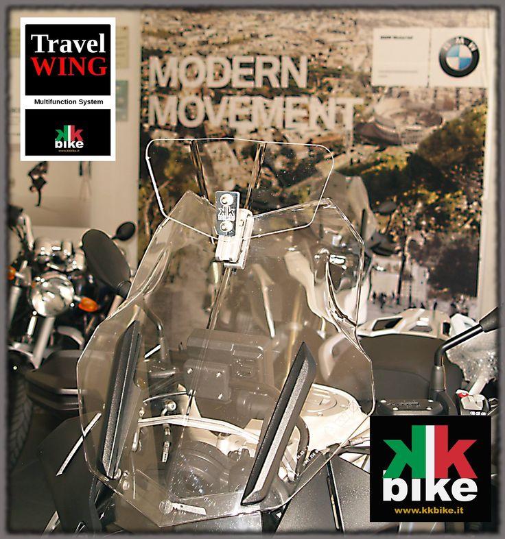 Travel Wing lo spoiler per moto belle