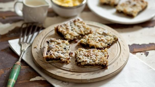BBC Food - Recipes - Mincemeat streusel