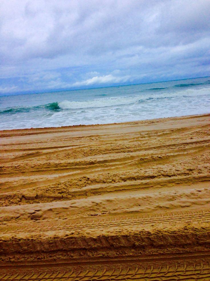 4wd tracks on Bribie Island