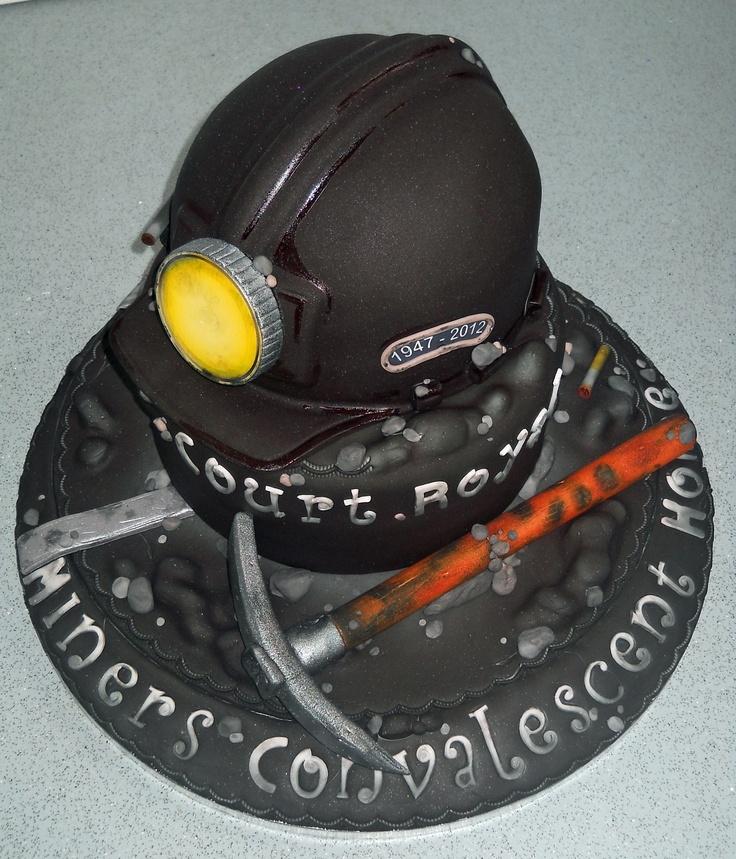 Coal Mining themed Cake | Cake Recipes | Pinterest | Coal ...