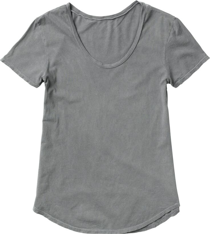 perfect color grey- basic t-shirt