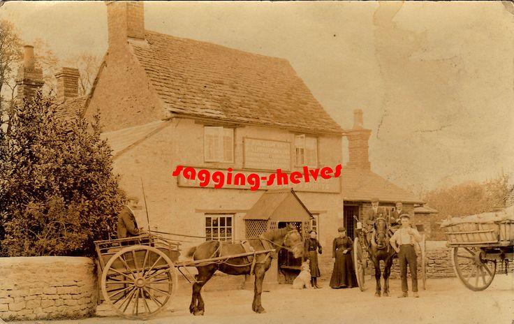 Oxfordshire - LITTLEWORTH (Faringdon) - Fox & Hounds Inn - RP - c.1905 | eBay