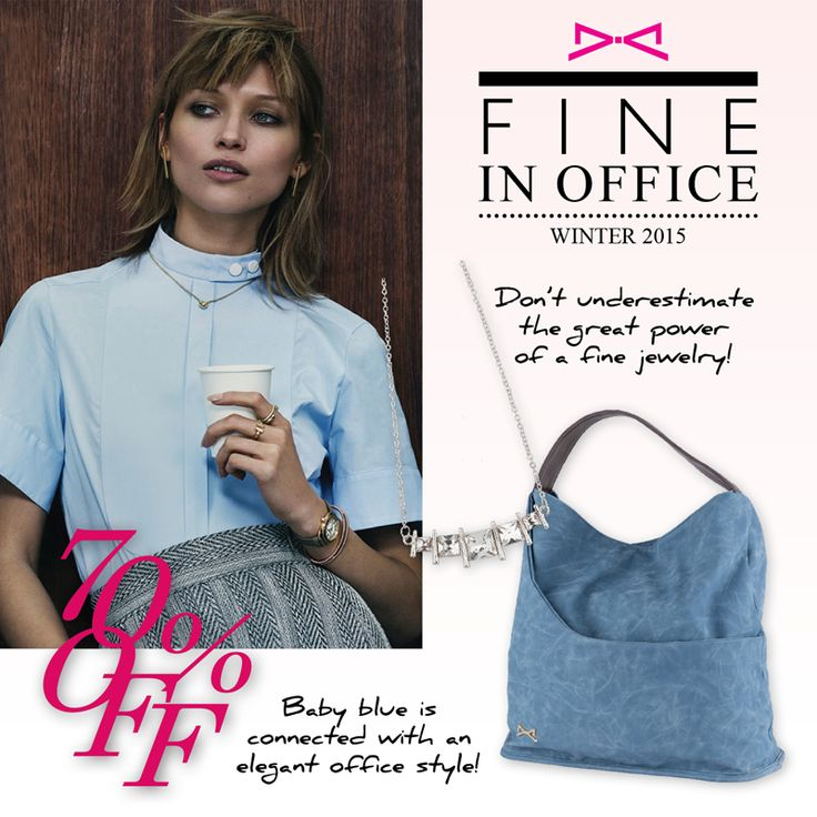 Fine manners in office looks! Shop now at #achilleas_accessories