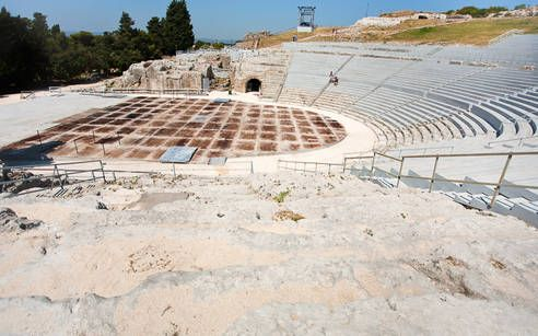 Altes griechisches Theater in Siracusa