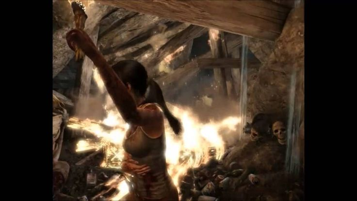 TombRaider 2013 gameplay Audio Greek part 1