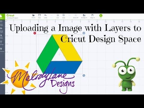 Upload an Image with Layers to Cricut Design space - YouTube