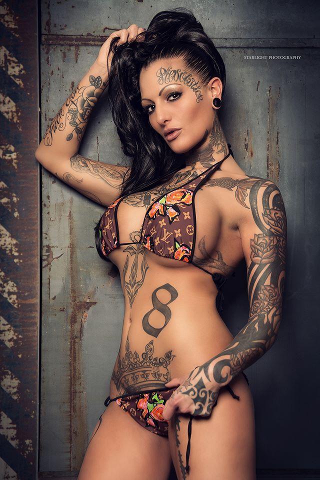 Tattoo model nude Take a