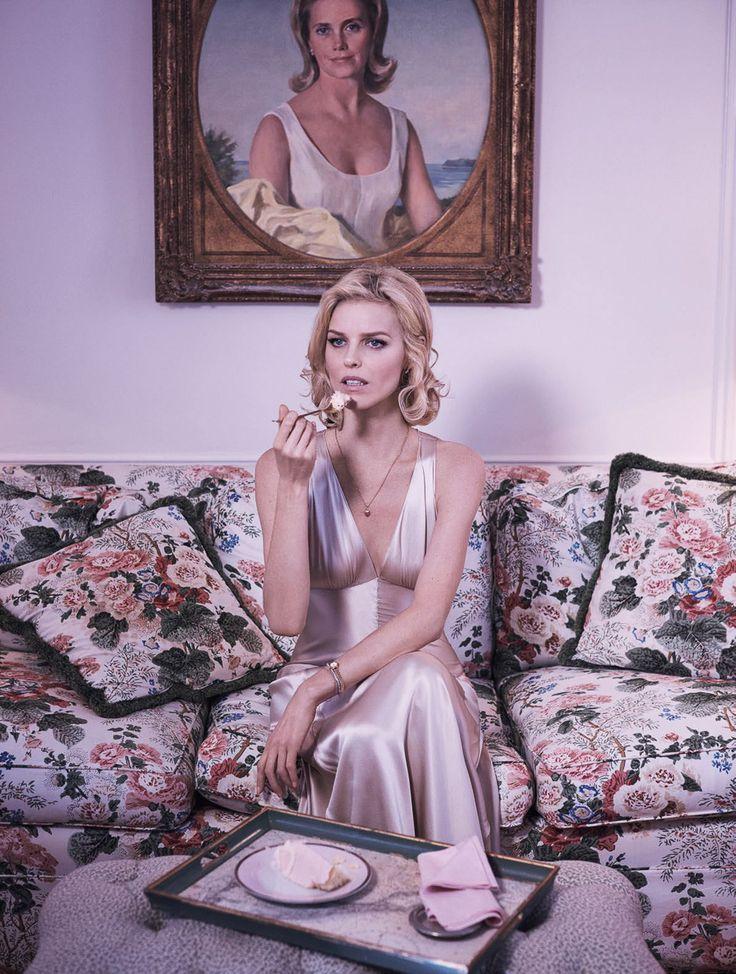 Vogue Paris March 2016 Eva Herzigova by Mikael Jansson