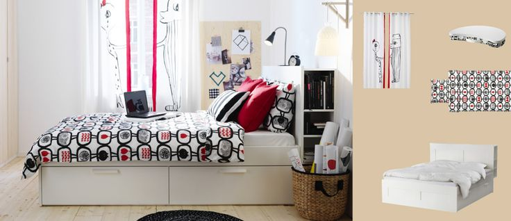 ... , Headboards, Brimnes White, Beds Frames, Storage Beds, Ikea Bedrooms