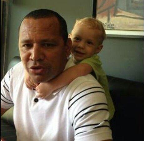 Neymars dad and son