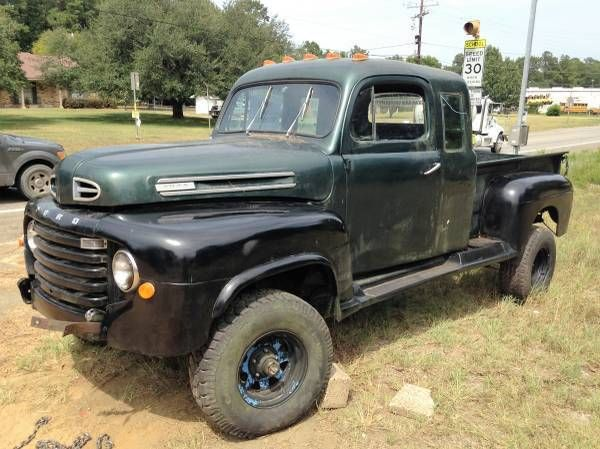 1949 Ford F1 Extended Cab 4x4 Pickup Truck Vintage Pickup Trucks Pickup Trucks Ford Trucks