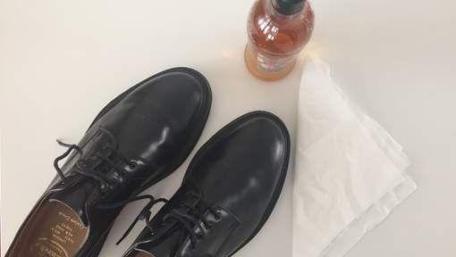 Met dit huishoudmiddel zien je leren schoenen er weer uit als nieuw - HLN.be