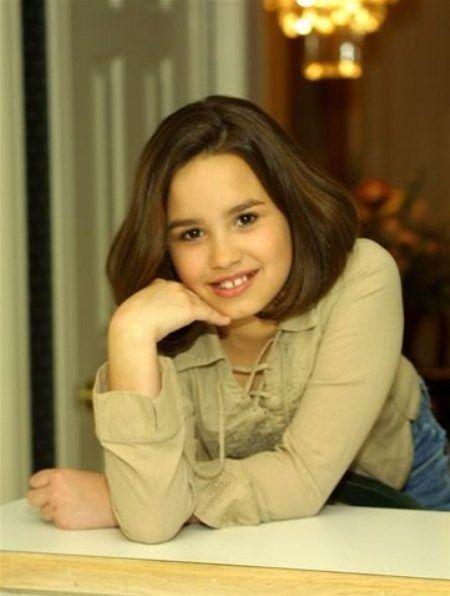 Demi Lovato in childhood