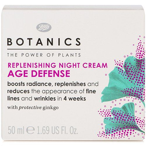 BOOTS Botanics Age Defense Replenishing Night Cream ** You can get additional details at the image link.(This is an Amazon affiliate link and I receive a commission for the sales)