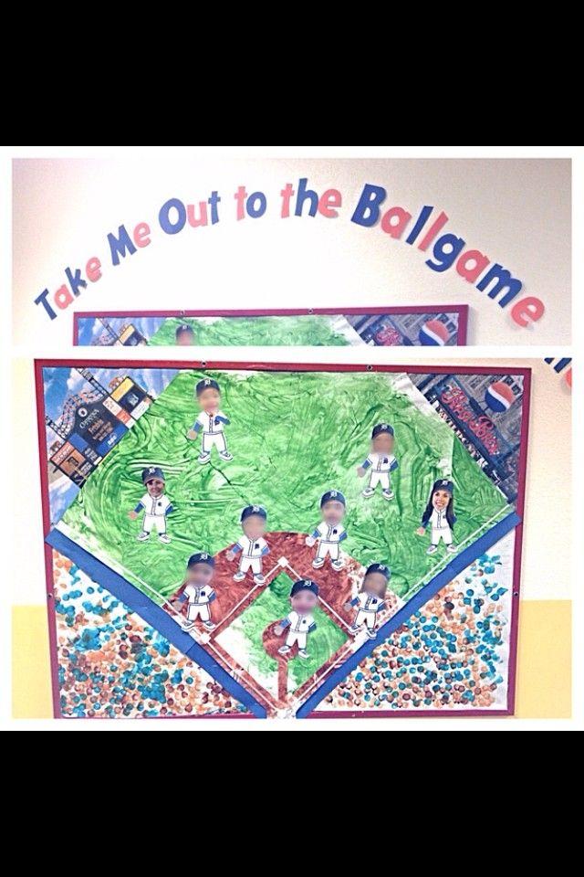 April baseball bulletin board... Detroit tigers