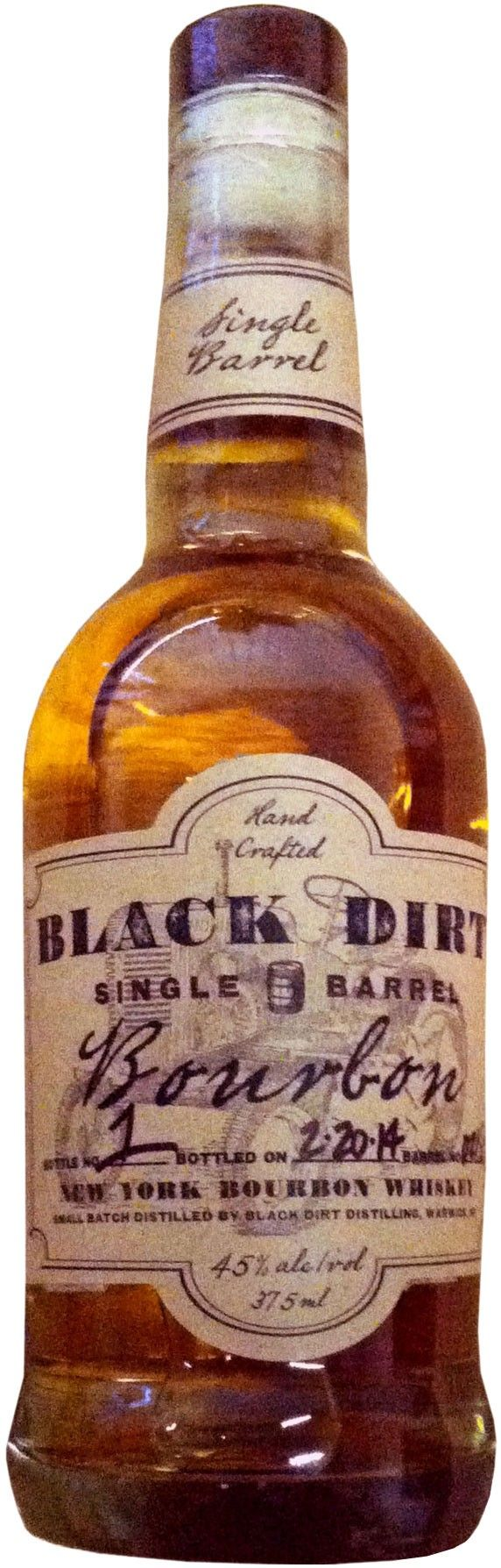 Aged for over two years, this single barrel bourbon is made from Black Dirt corn in upstate New York.
