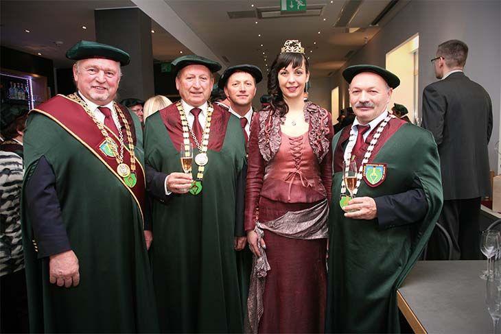 Sprejeli so sedem novih vitezov - pripravnikov