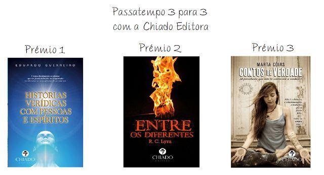 Páginas de uma Lua - O Diário de uma vida: Passatempo 3 para 3 com a Chiado Editora!