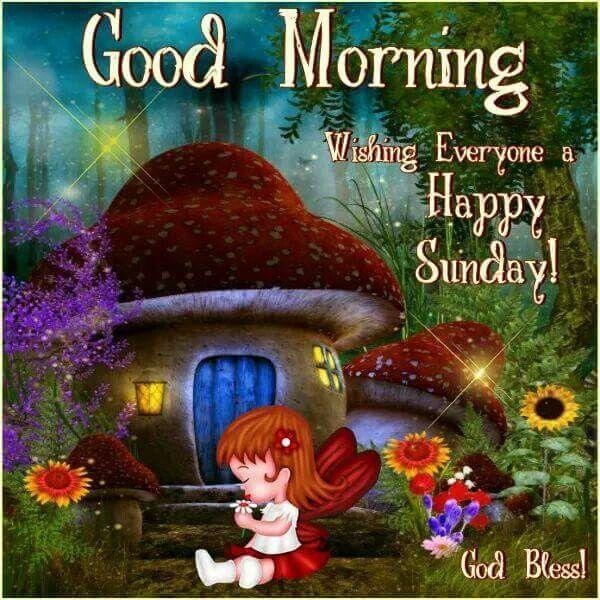 Good Morning, Wishing Everyone A Happy Sunday!