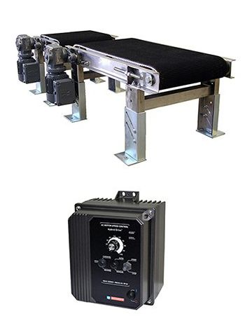 Why is the KBAC NEMA 4X Drive a good fit for a conveyor system?