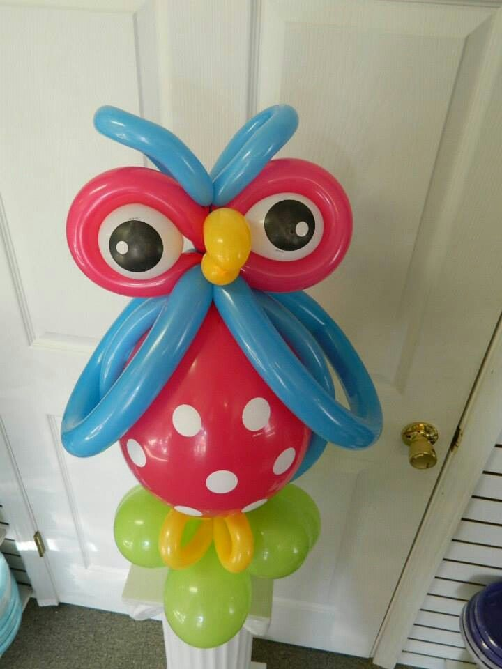 Best owl balloons ideas on pinterest diy themed