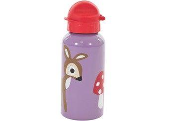 glamorous purple deer drinking bottle Sebra | Kids shop the Little Zebra