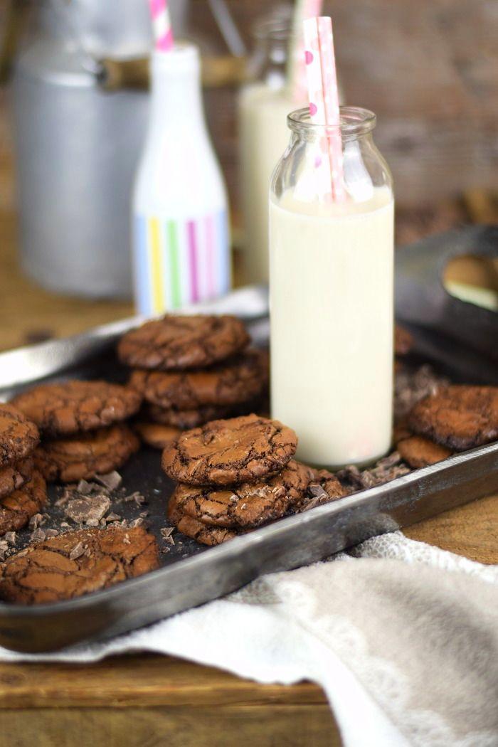 Schokoladige Saftige Brownie Cookies - Chocolate Brownie Cookies (1)