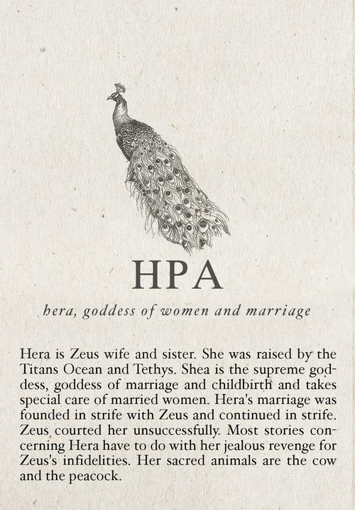 Hera- Goddess of Marriage and Fertility, Zeus's Wife- One of the Twelve Olympian Gods