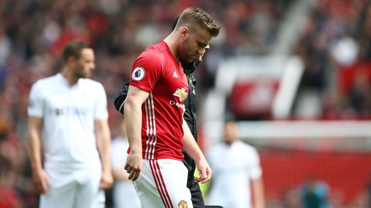 Jose Mourinho confirms Man United defender Luke Shaw out for season