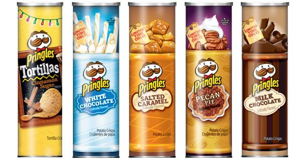 Pringles Holiday Flavors