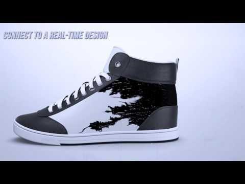 El uso del e-paper en otro tipo de productos como pueden ser unas zapatillas - http://www.todoereaders.com/el-uso-del-e-paper-en-otro-tipo-de-productos-como-pueden-ser-unas-zapatillas.html