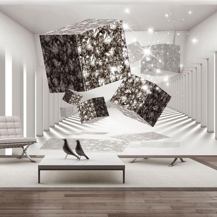 Optyczna fototapeta #tapeta #fototapeta #art #abstract #wall #decor