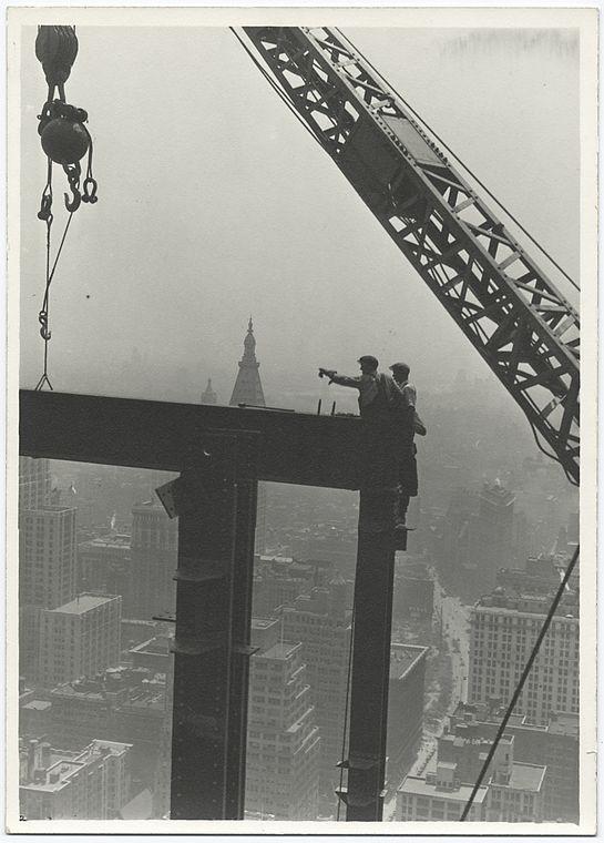 24 fotos tomadas durante la construcción del Empire State Building