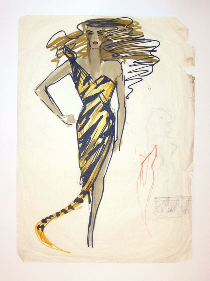 Illustration Gallery - Antony Price: For Your Pleasure - SHOWstudio - The Home of Fashion Film