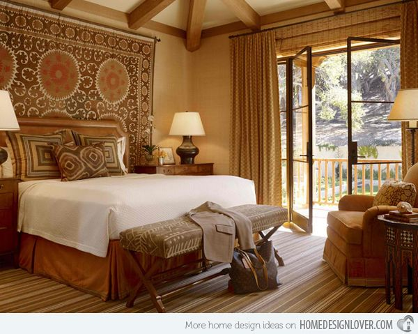 15 awesome african bedroom decors