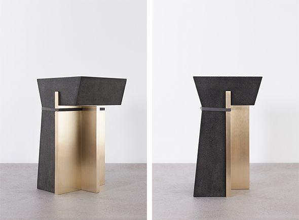 de natura fossilium-tables-stools - Formafantasma