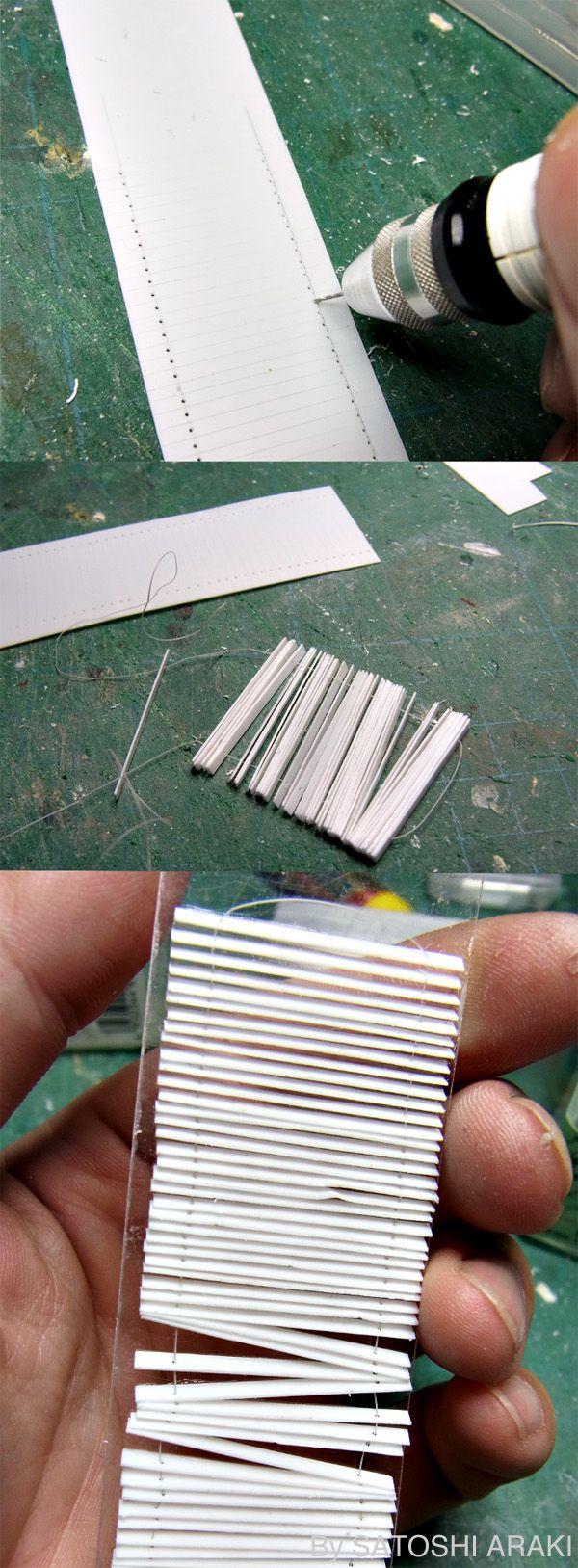 Miniature Tutorials - Blinds
