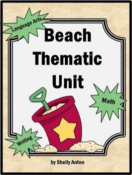 This is a 60 page Beach Thematic Unit focuses on Common Core skills for Grades 1 and 2. You will find language arts, math and writing activities!