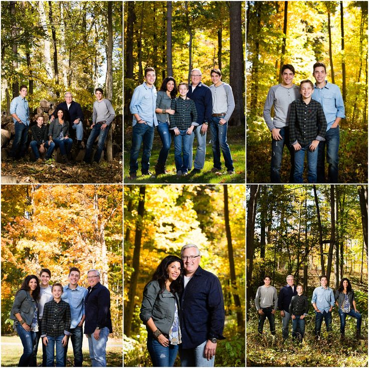 We love photographing families in the Fall, especially on their own property. #familypics #familyphotos #familyshoot