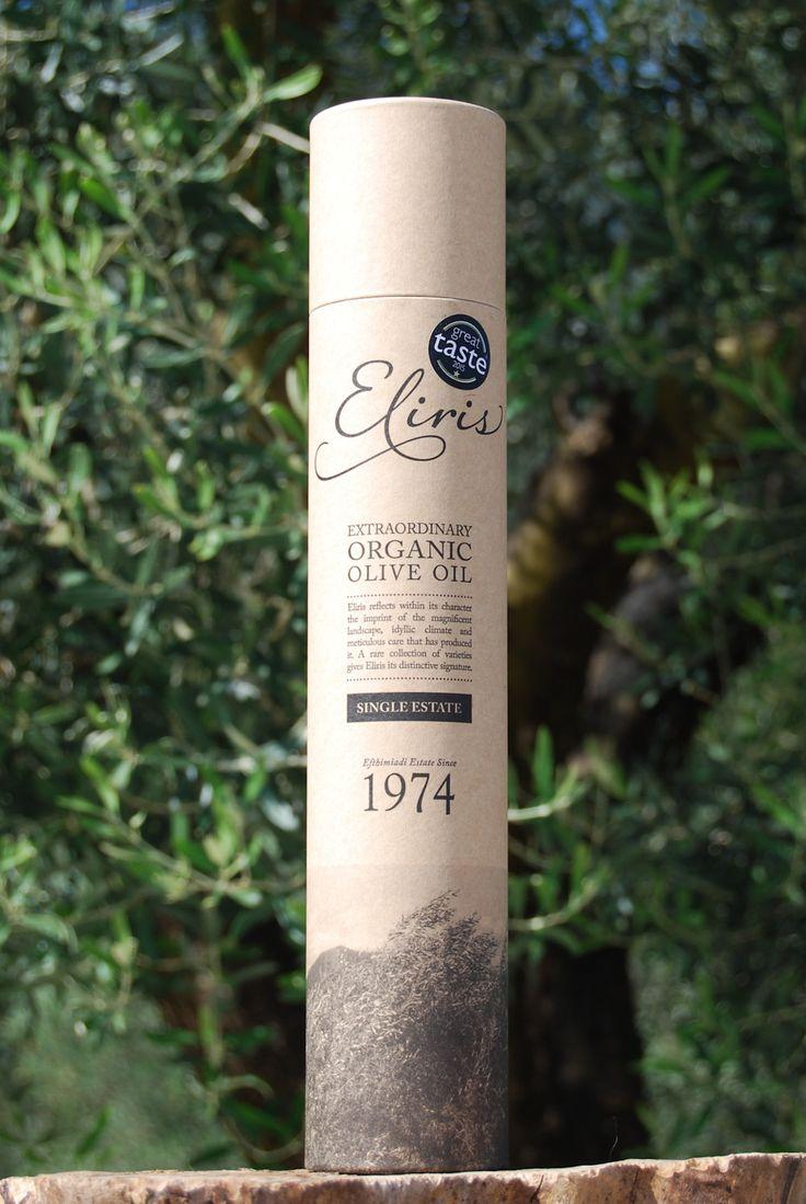 Eliris organic olive oil gift tube