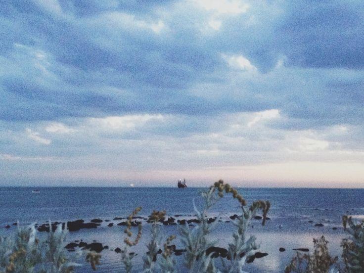 photo via jinjing.deng.vsco.co  #sea