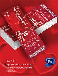Image result for valentines ticket design