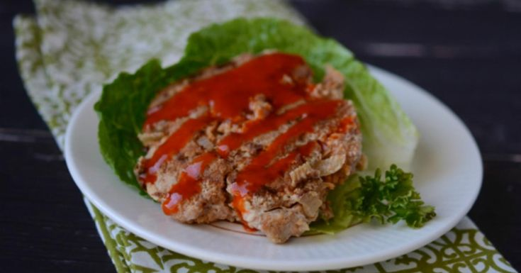 Gluten Free Dairy Free Buffalo Chicken Burgers | Once A Month Meals