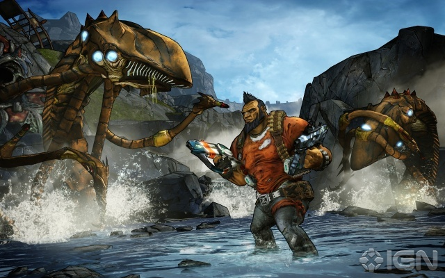 Borderlands 2. This is going to be an awesome fall release. Borderlands 1 was such a sleeper hit! Check it out if you haven't already.