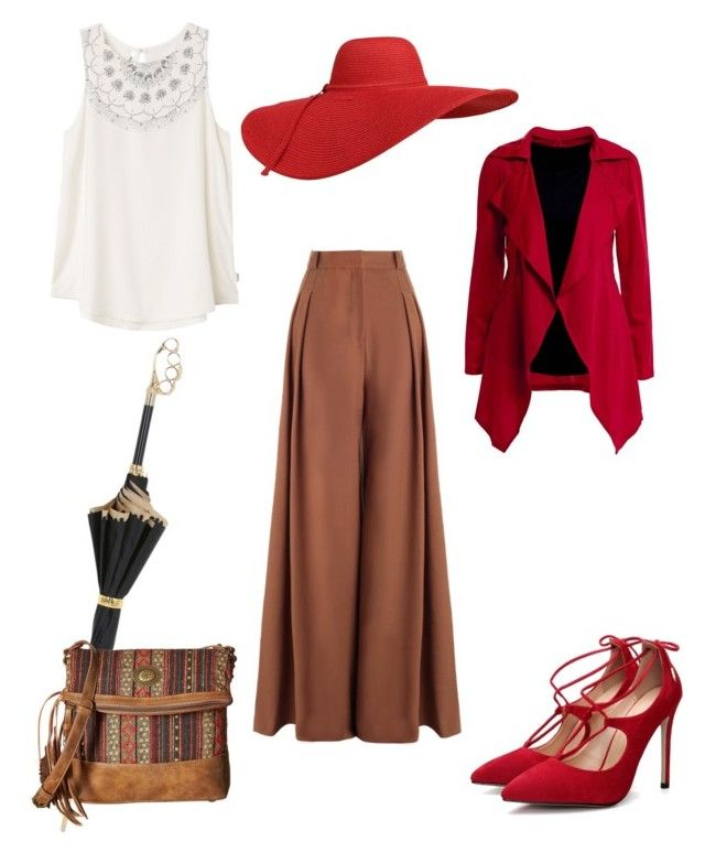 """""""Autumn look #1"""" by lanebuleusedepersephoneia on Polyvore featuring Pasotti Ombrelli, Zimmermann, RVCA, American West and contest"""