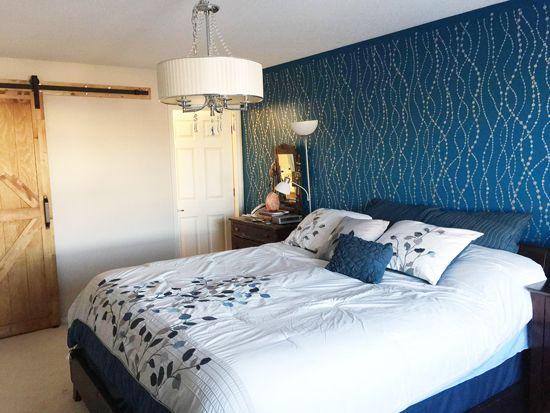 Die besten 25+ Akzent Wand Schlafzimmer Ideen auf Pinterest | Grau ...