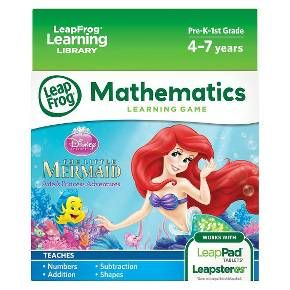 LeapFrog Disney The Little Mermaid Learning Game (for LeapPad Tablets and LeapsterGS) : Target