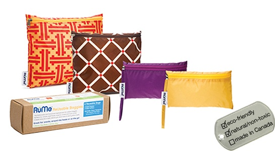 RuMe Bags Baggie Collection - 4-pk box