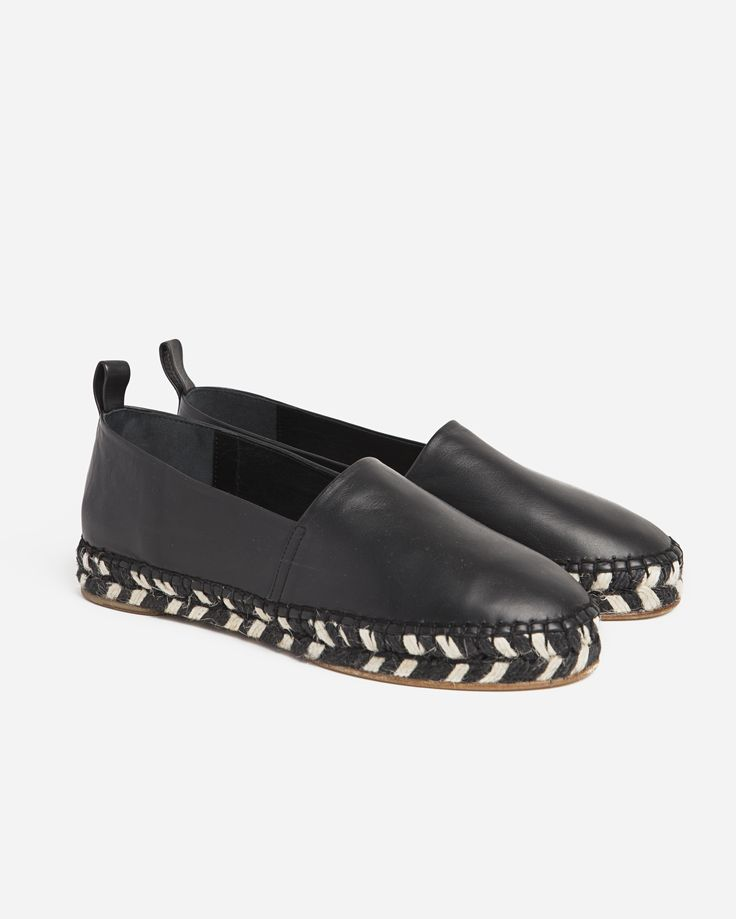 Proenza Schouler Leather Espadrille